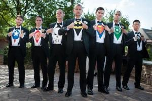 All married men are superheros!