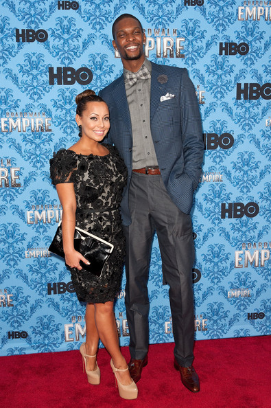 Chris and Adrienne Bosh bring the Heat everytime.
